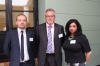 David Bartlerr (Prestige Recruitment Group), John Lowe (Shoesmiths Business Solutions Ltd) & Mindi Funar (Prestige Recruitment Group)